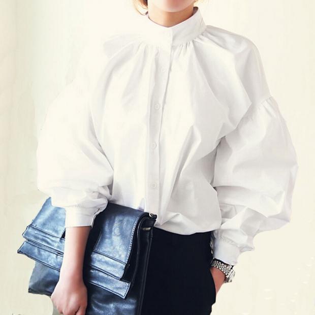 Блузи такого тренду можуть використовуватися як ошатний варіант 7a55de30c5753